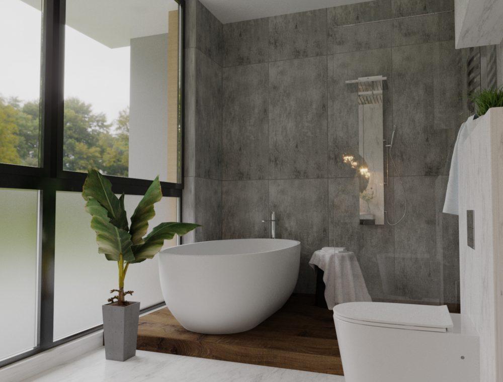 აბაზანა სახლი ლისზე