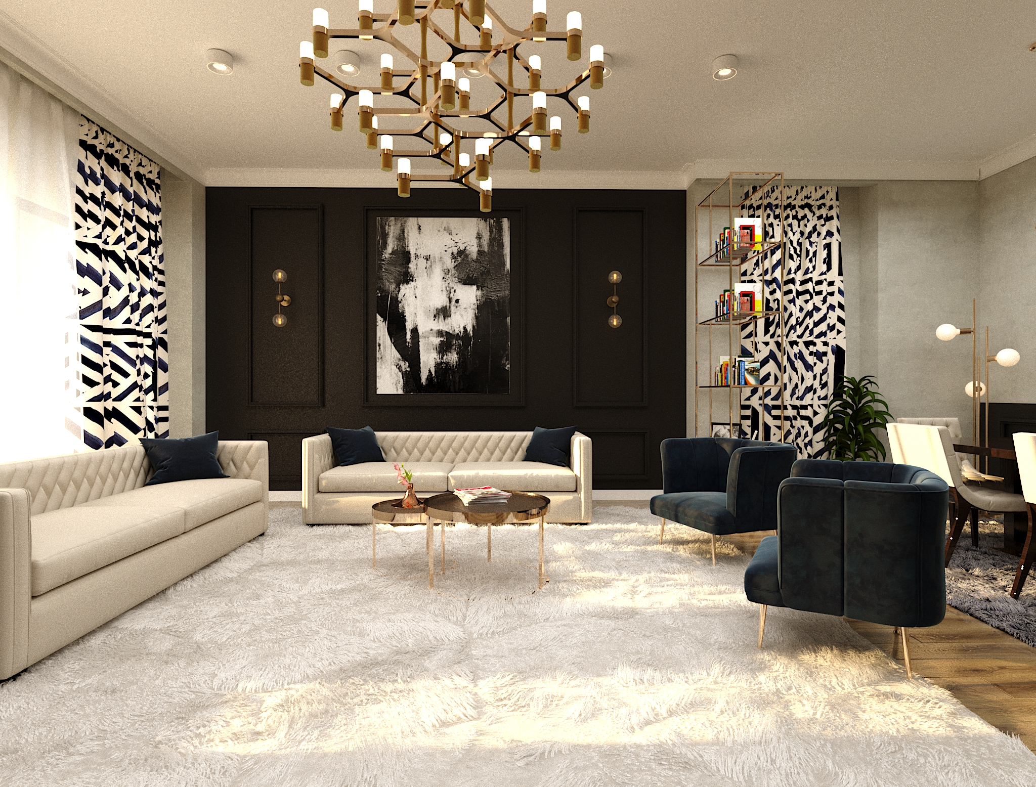 Anjaparidze Street – Interior Design