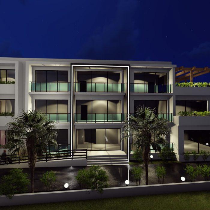 მრავალფუნქციური კომპლექსი ოზურგეთში – არქიტექტურული პროექტი