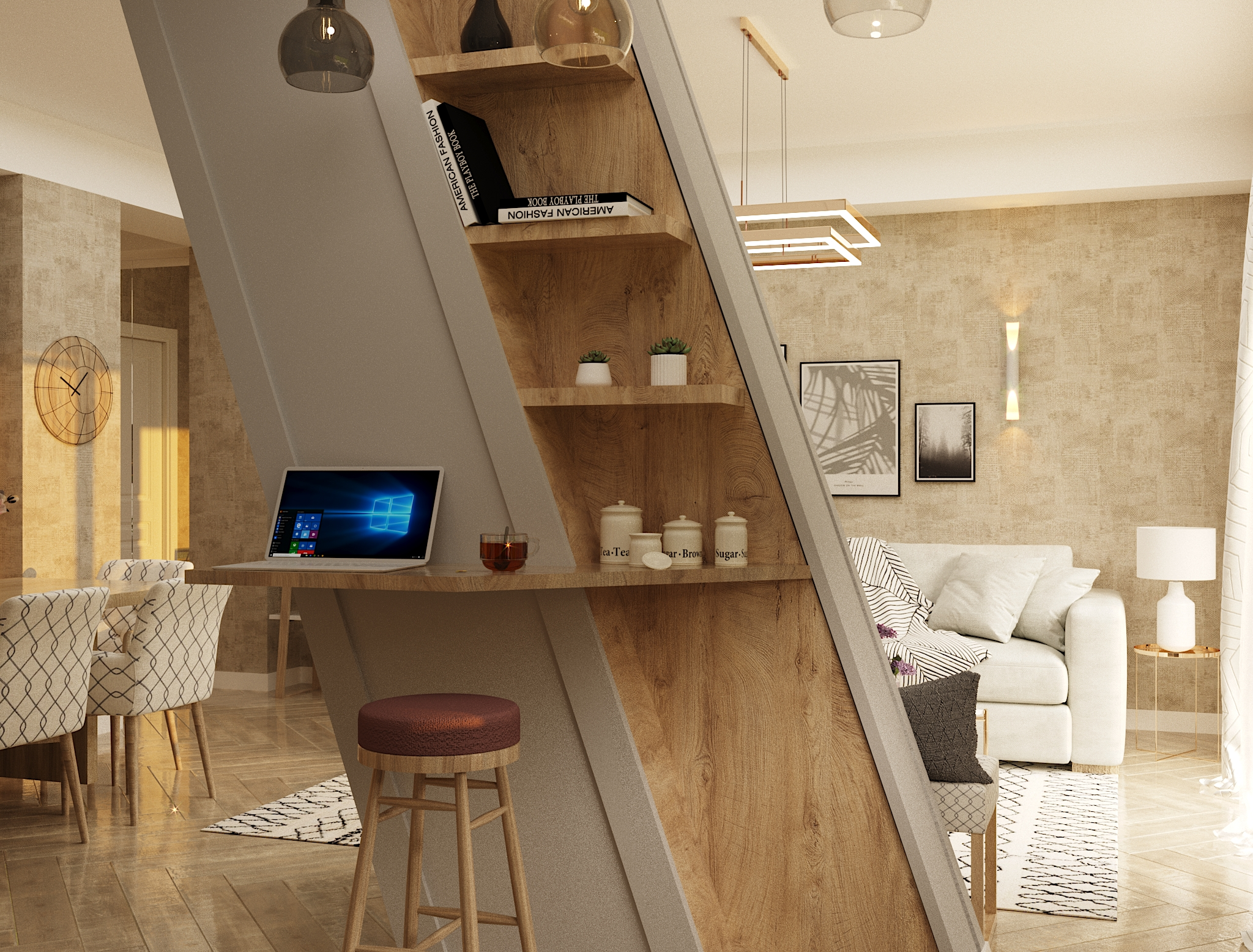 Pyramid – Interior Design