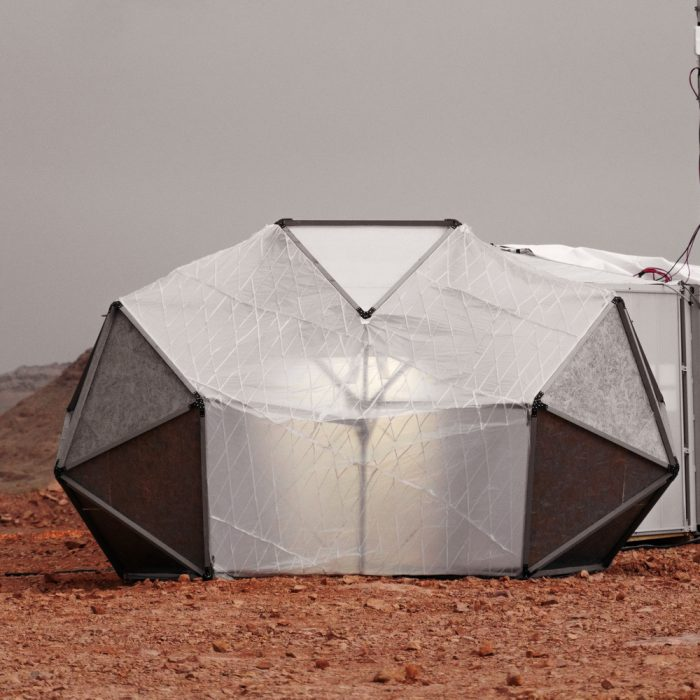 """""""მარსის სახლი"""" ისრაელის უდაბნოში"""