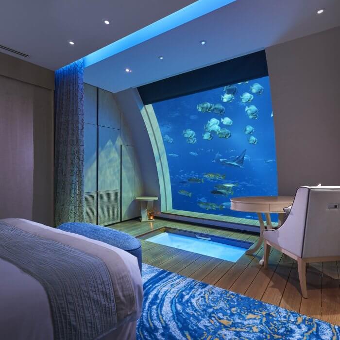 სასტუმროები ოკეანის გულში და დაუვიწყარი მოგზაურობა სიღრმისკენ