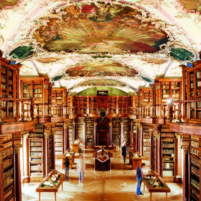 მსოფლიოს გამორჩეული ბიბლიოთეკები და უსაზღვროდ ლამაზი არქიტექტურა