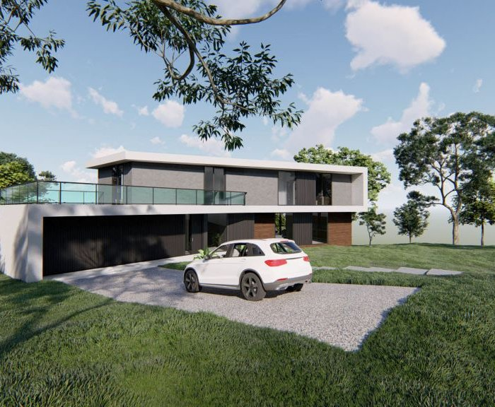 Private house in Tsavkisi – Architecture Project