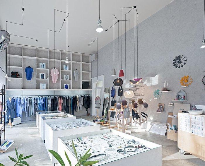 მაღაზიის წარმატების ერთ-ერთი მთავარი კომპონენეტი მისი ინტერიერია