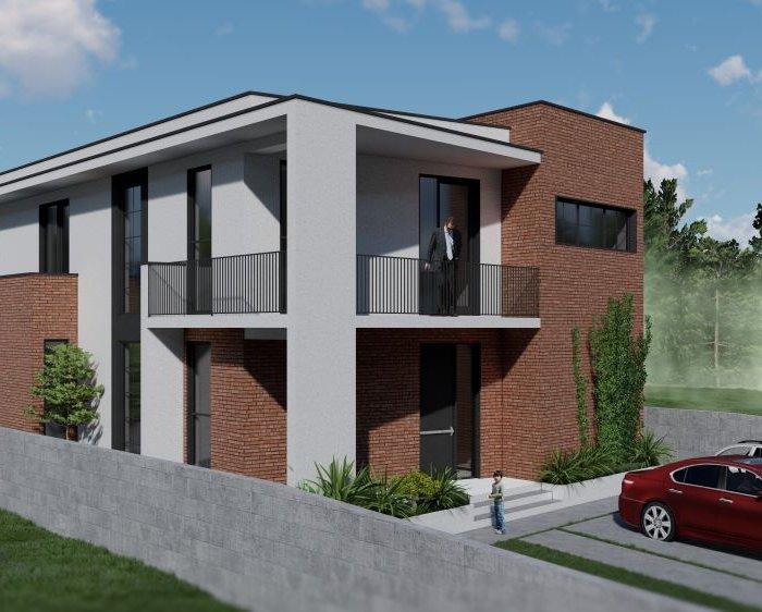 თხინვალა – კერძო სახლის არქიტექტურული პროექტი
