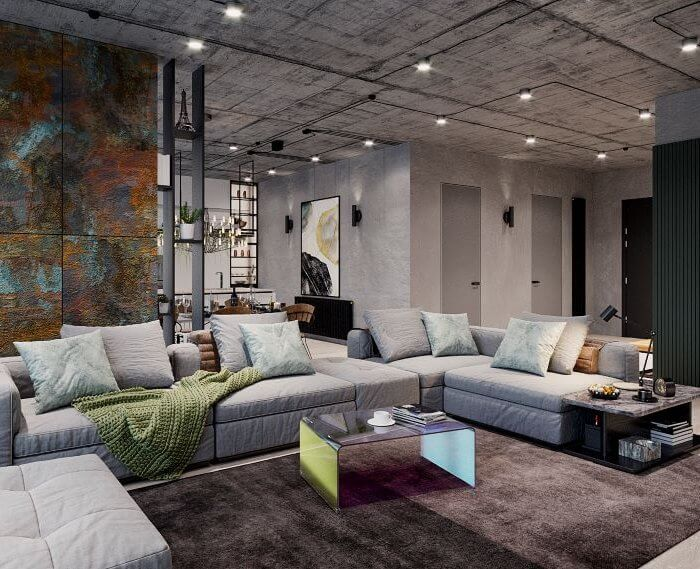 Apartment on mtatsminda – Interior Design