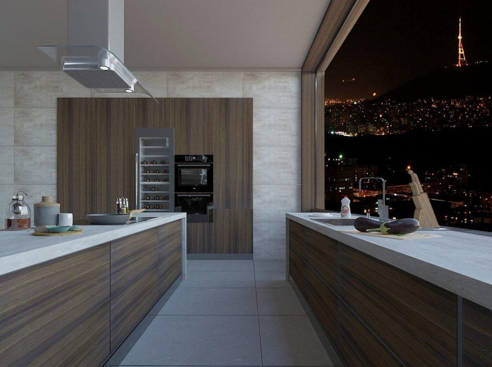 სამზარეულოს ინტერიერის დიზაინი