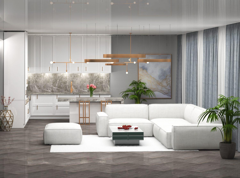 saxlis interieris dizaini tamarashvilze